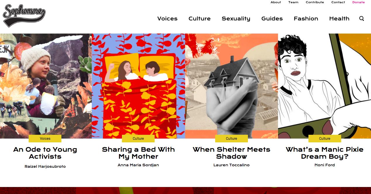 Online Feminist Magazines I've Been Loving Lately - InTheFlux