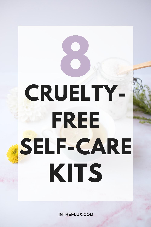 8 Cruelty-Free Self-Care Kits Pinterest pin