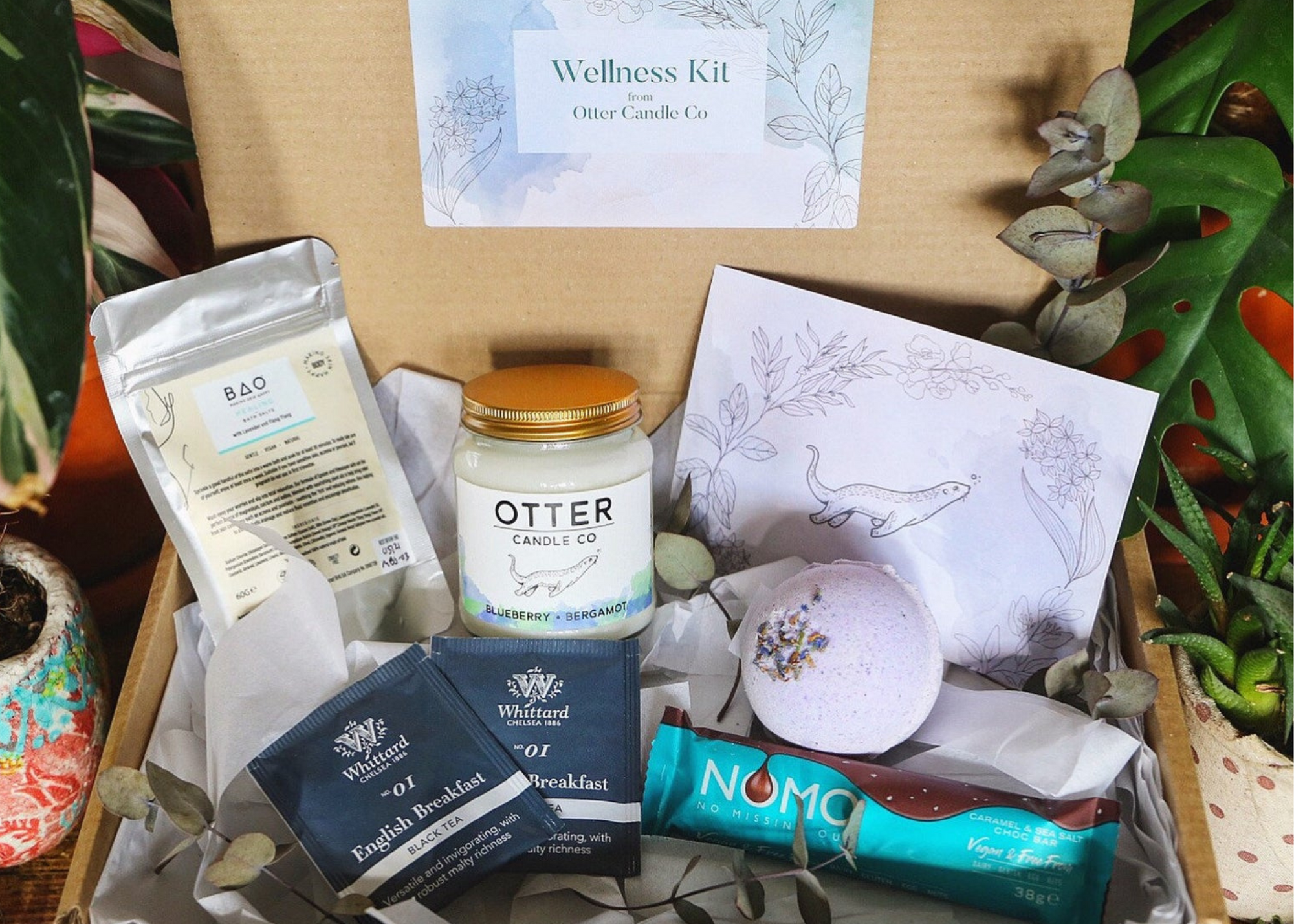 Wellness Self-Care Kit by OtterCandleCo on Etsy