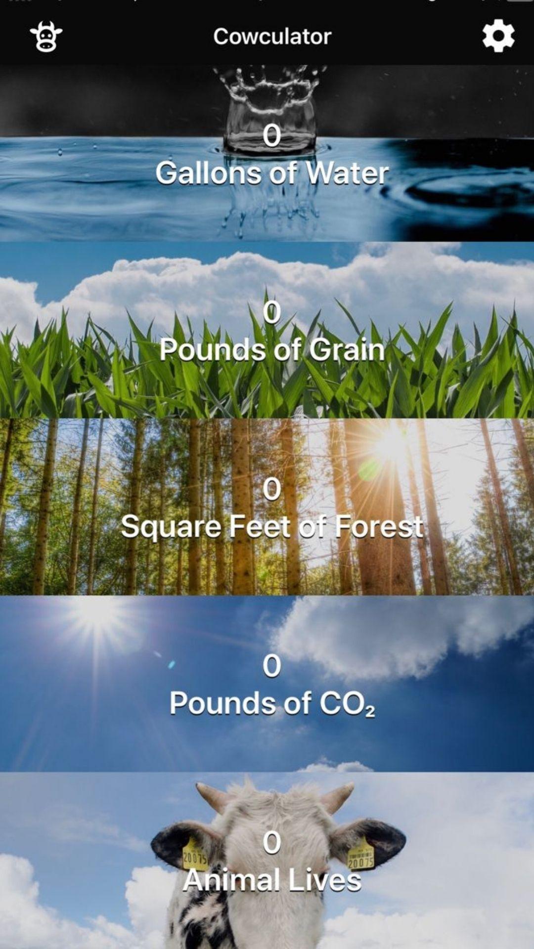 Cowculator app
