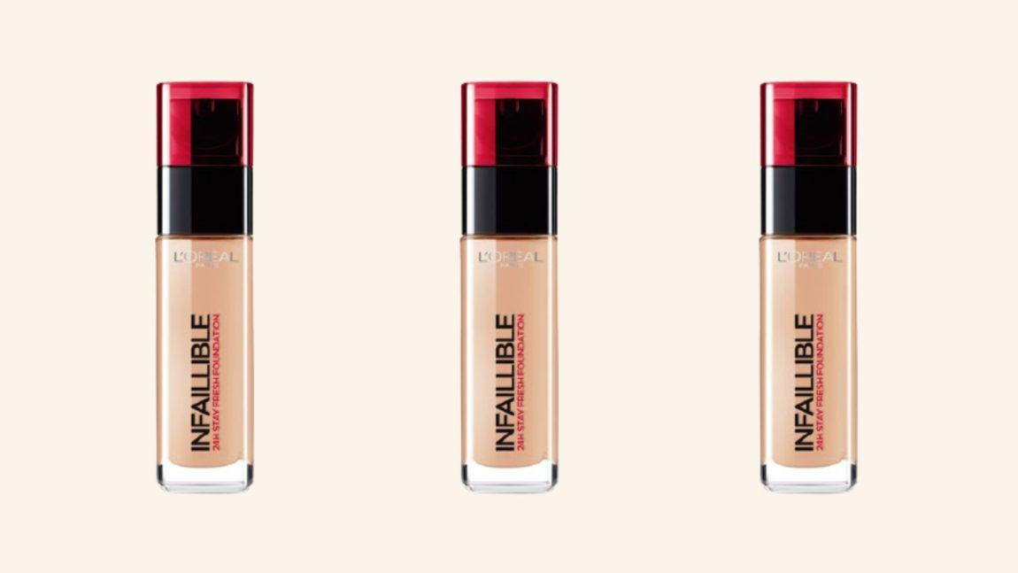 L'Oréal makeup foundation