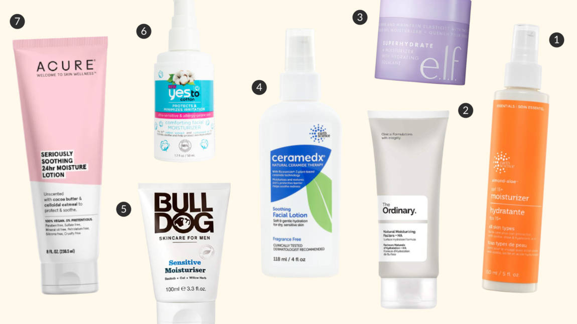 Cruelty-free moisturizer products